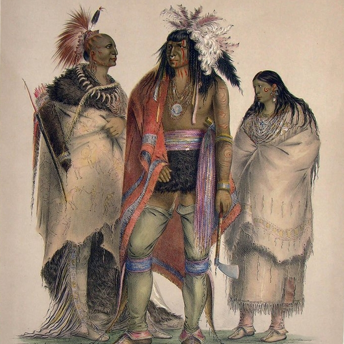 Plates from George Catlin's North American Indian Portfolio