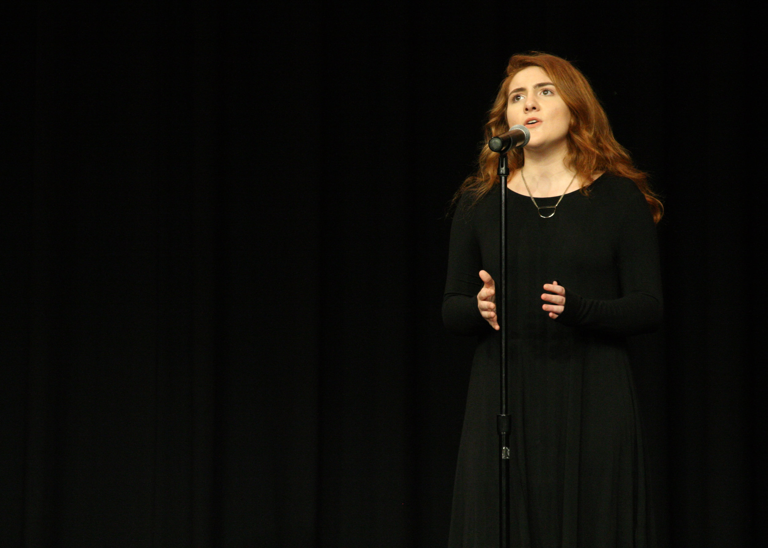 "Corrine Collison, then a junior at Jordan-Matthews High School, won the Sing and Play '18 high school competition back in February. She recently performed on stage as Ursula in the school's production of ""Disney's The Little Mermaid."""