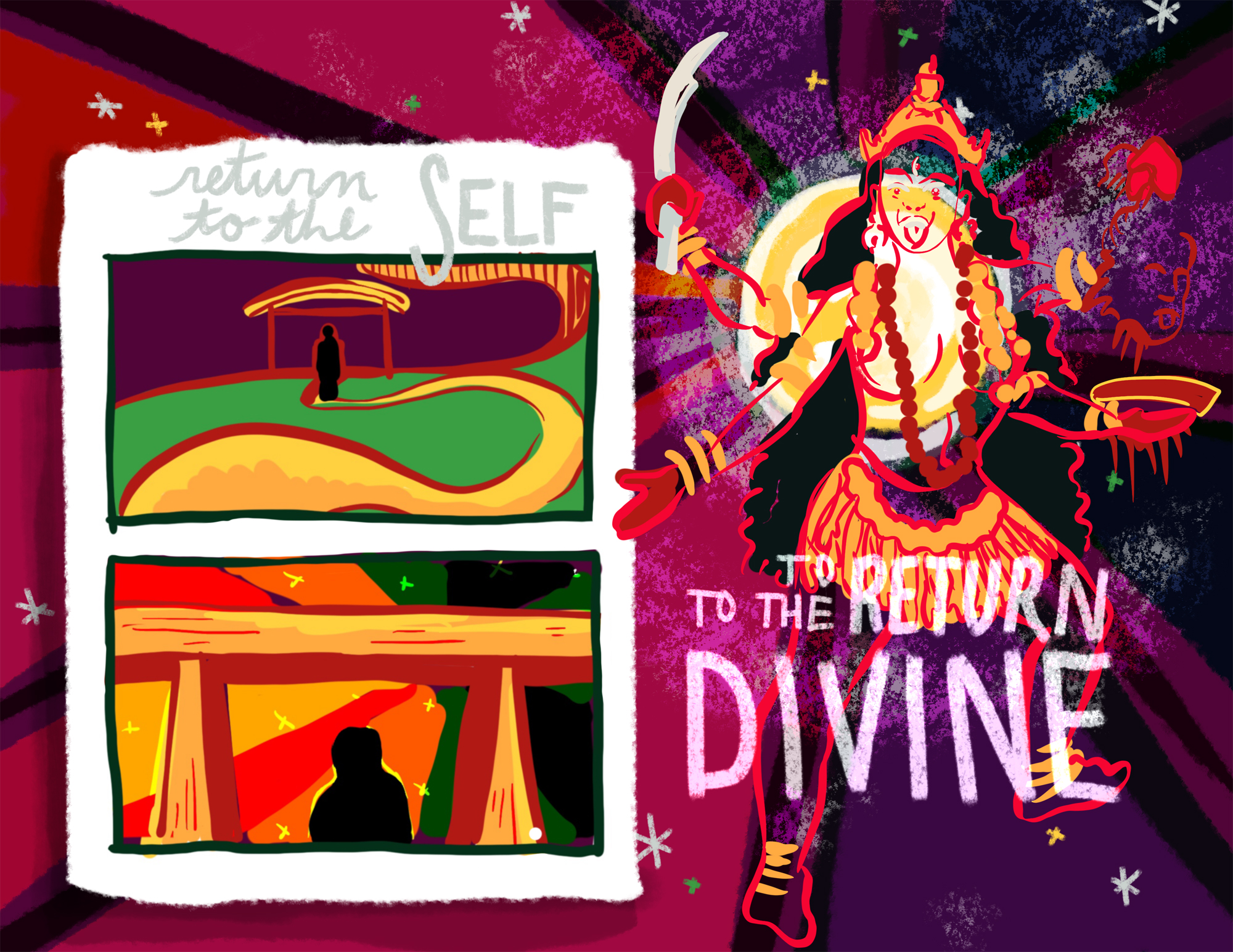 Return to yourself to return to divinity.