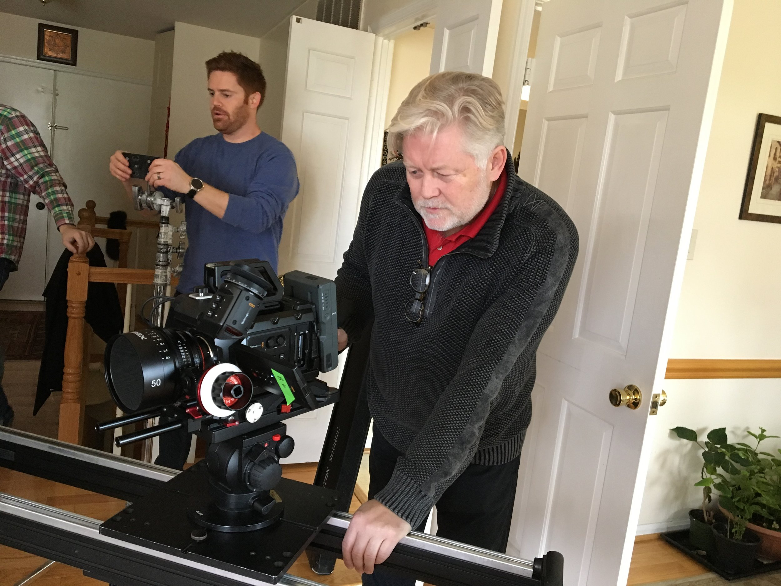 McKay Daines directing True Iran documentary (2)