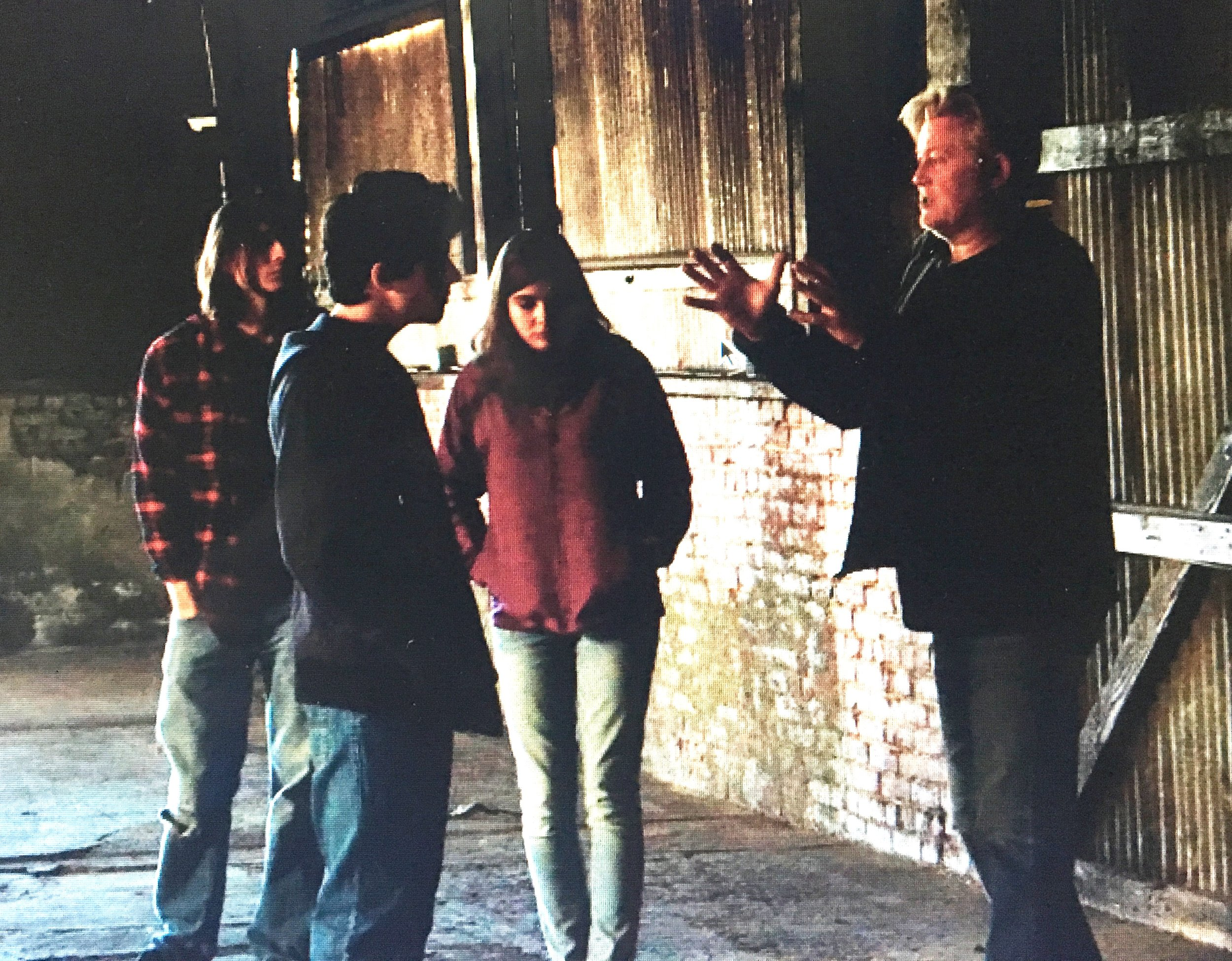 Directing Rhys Matthew Bond on Michael Vey Cell 25