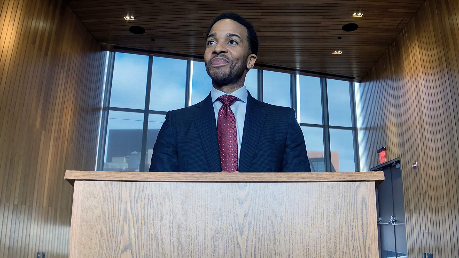 Andre Holland. Photo by: Peter Andrews