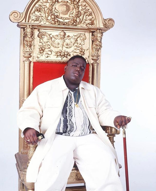The only Christopher we acknowledge is Wallace 👑  Happy Birthday to Biggie Smalls who would have been 47 today ❤️