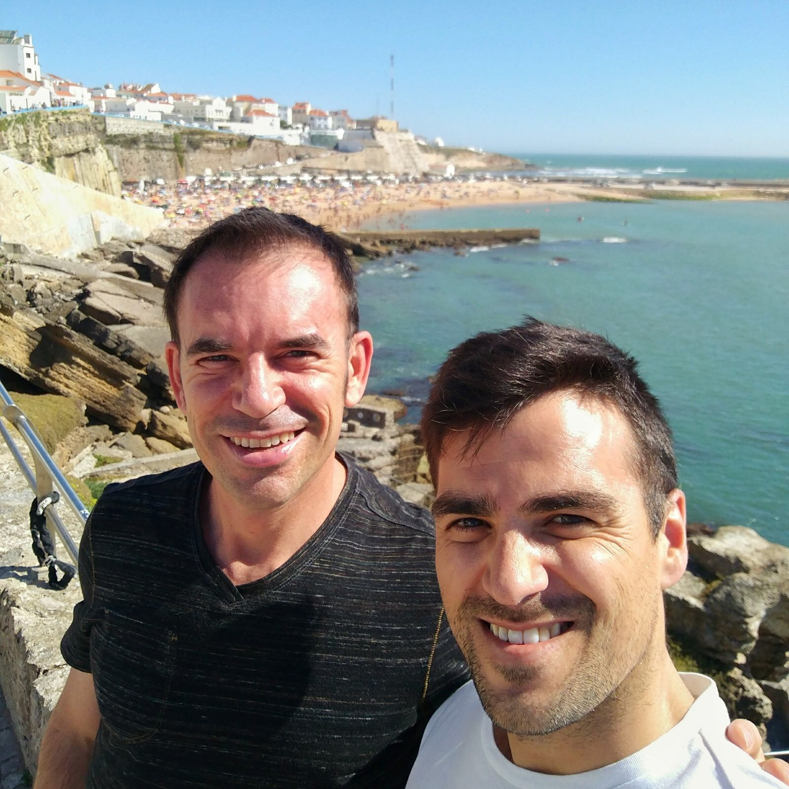 With Gonçalo in Ericeira