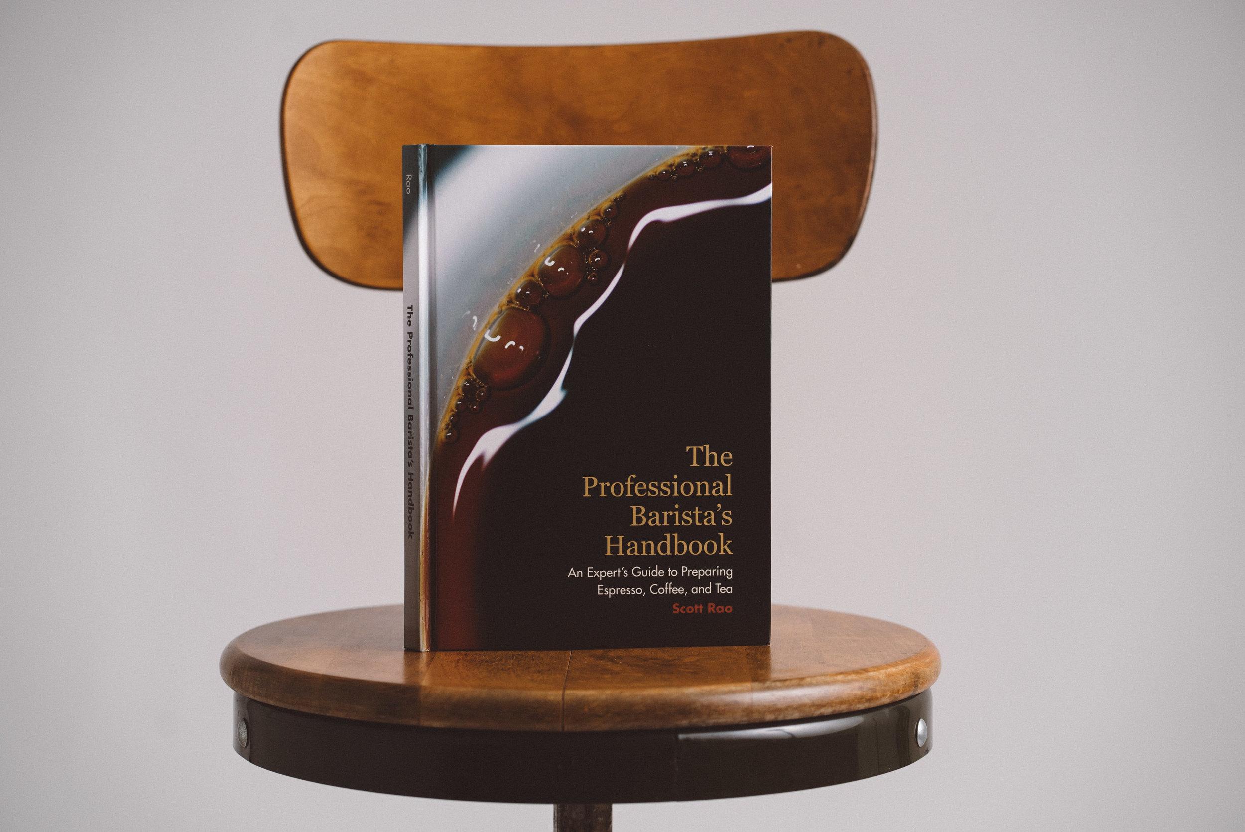 The Professional Barista's Handbook Cover