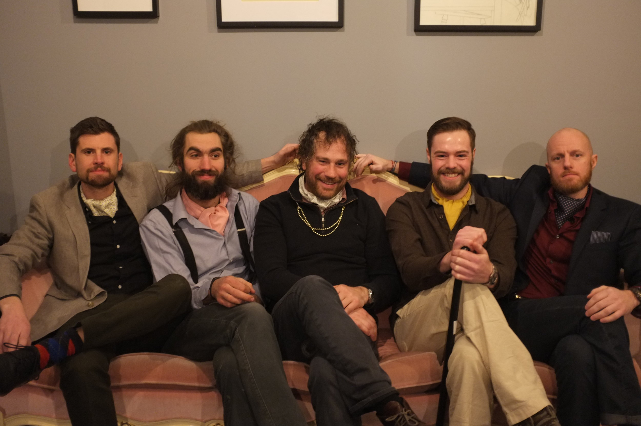 Beards and Ascots