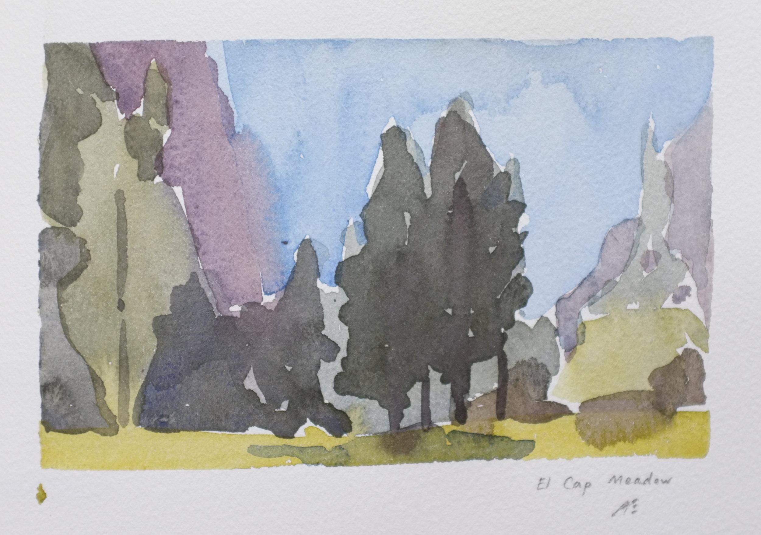 El Cap Meadow