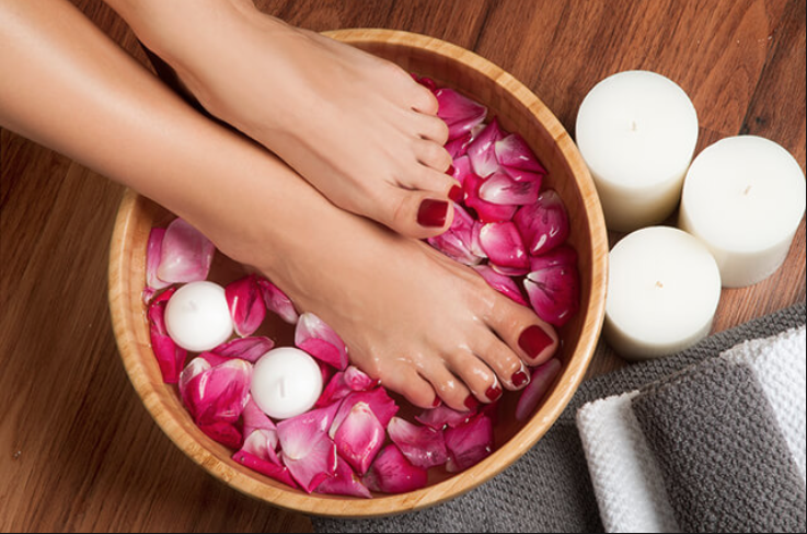 Pedicures - Classic Pedicure 30* Includes: 30mins,Clipping the nails and cuticlesDeluxe Pedicure 50* Includes: 45mins, Foot scrub and mask , clipping the nails and cuticles & callus removalSignature Pedicure 60* Includes: 60mins, Foot Scrub , massage , clipping the nails and cuticles, Mud mask and callus removalAdd - OnsShellac polish 20Paraffin Wax 10