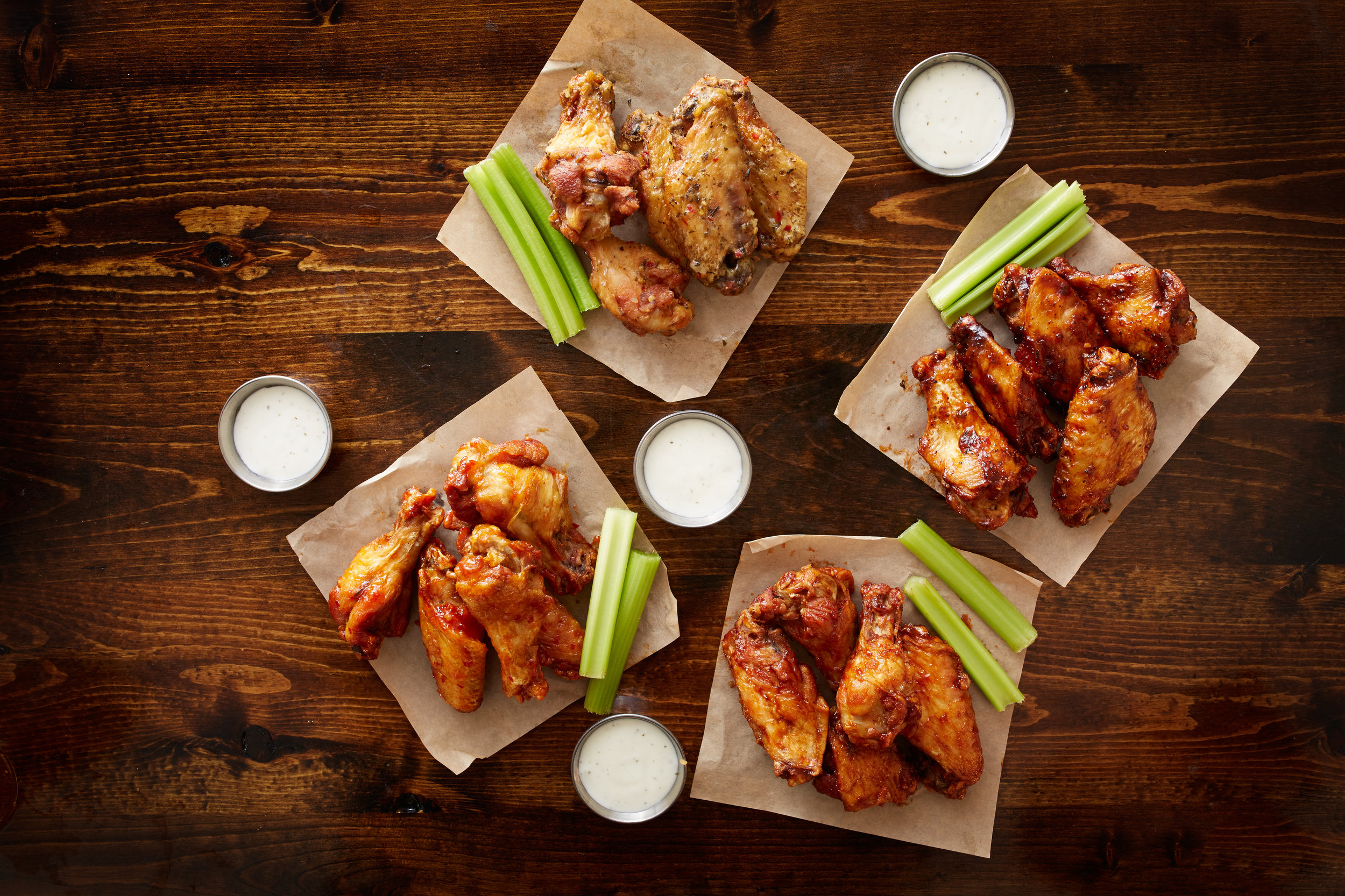 20 Flavors of Buffalo Wings