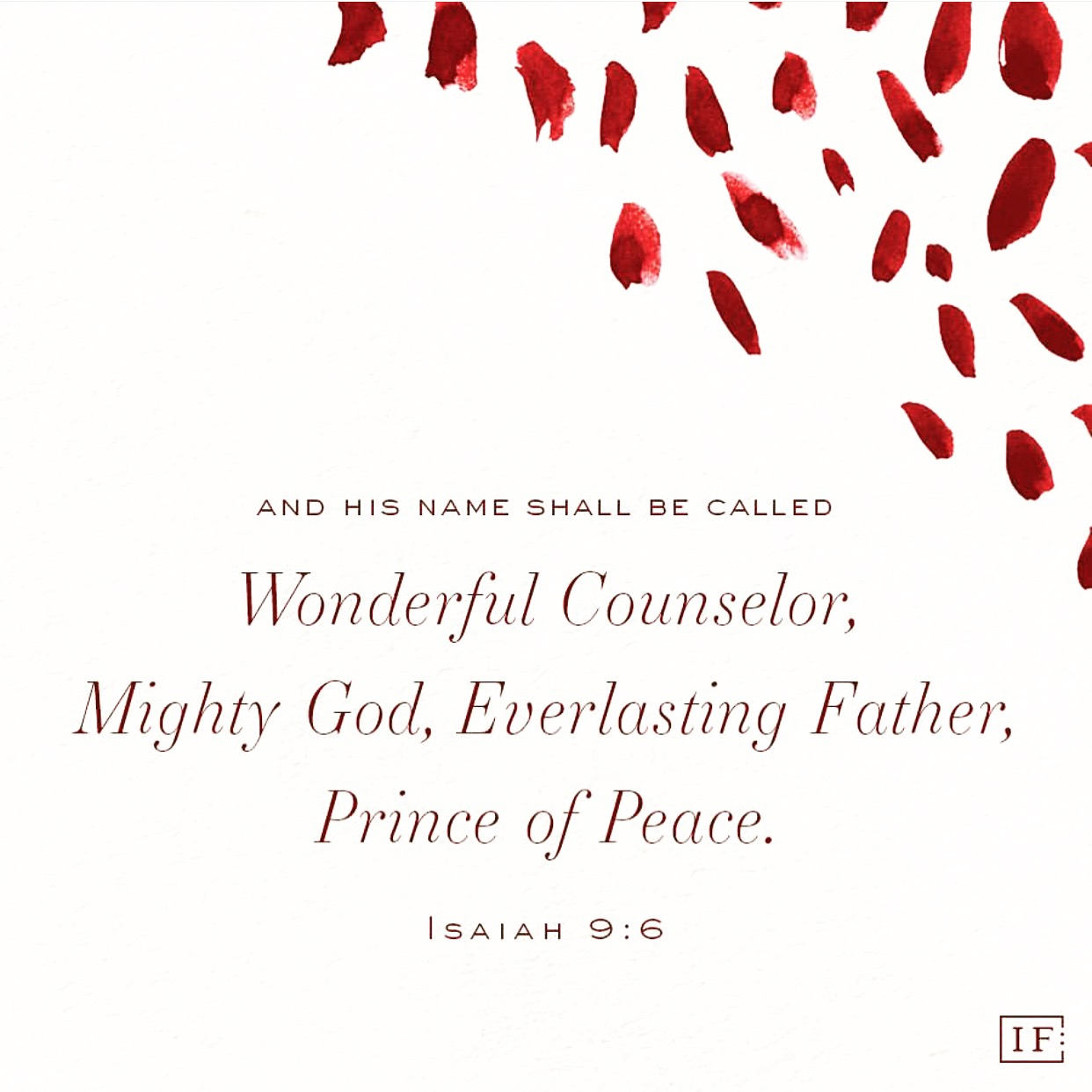 last minute advent study - Wonderful CounselorMighty GodEverlasting FatherPrince of Peace
