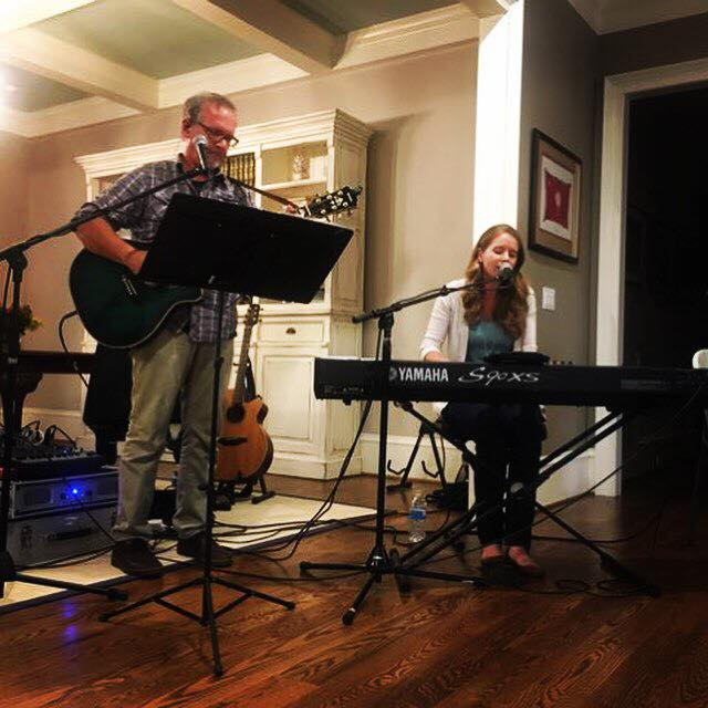 House concert in Chapin with the amazing and talented Allen Jones. Such a fun evening!