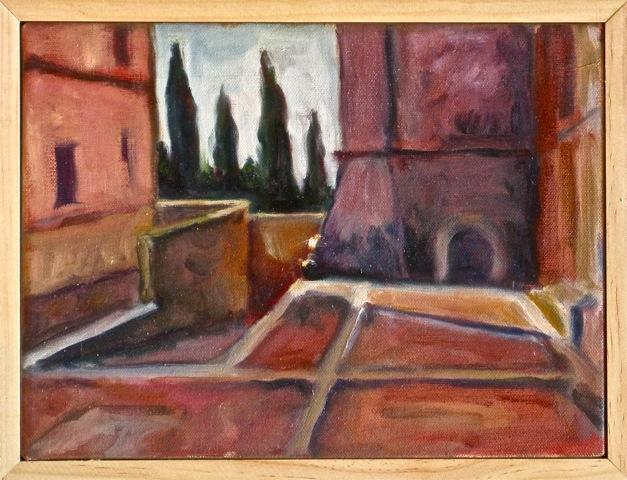Courtyard, Pienza