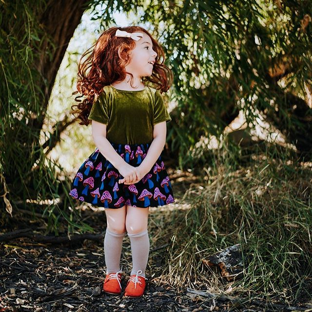 """So I've been hiding under a rock. Not like a cute little pet rock, but a Rockie Mountain boulder. In a Steven Tyler EPIC screaming voice, """"I'M BAAAAACK!""""⚡️  I have SO MUCH to share (past projects + future projects) but I just had to share this first. My little red headed Monroe was asked to model for a local clothing line @happyshombey!!  #OBSESSED  So this little girl in her EPIC clothes + bows from @minalovesbows is my why, my drive and reason for why I do what I do. How Monroebot Graphics came to life. Taking that chance so I can create a better life for my daughter, myself and my family. To help other people and business owners absolutely kill it and succeed in business and in life, because let's be honest...they truly go hand in hand. #YOLO  ———————————————————⚡️ ———————————————————⚡️  A BIG SHOUT OUT to all of my clients, collaborators, homies, ride or dies, my family + my husband. I could not do this without any of YOU!!!  ps. To celebrate my second year in business I have collaborated with over 20 local businesses + homies for an EPIC GIVEAWAY!!! Seriously, it's already valued at over $3,000!!!! #mindBLOWN  THANK YOU #BAKERSFIELD ⚡️   📷 @happyshombeyphotgraphy #gratitude #monroebotgraphics"""