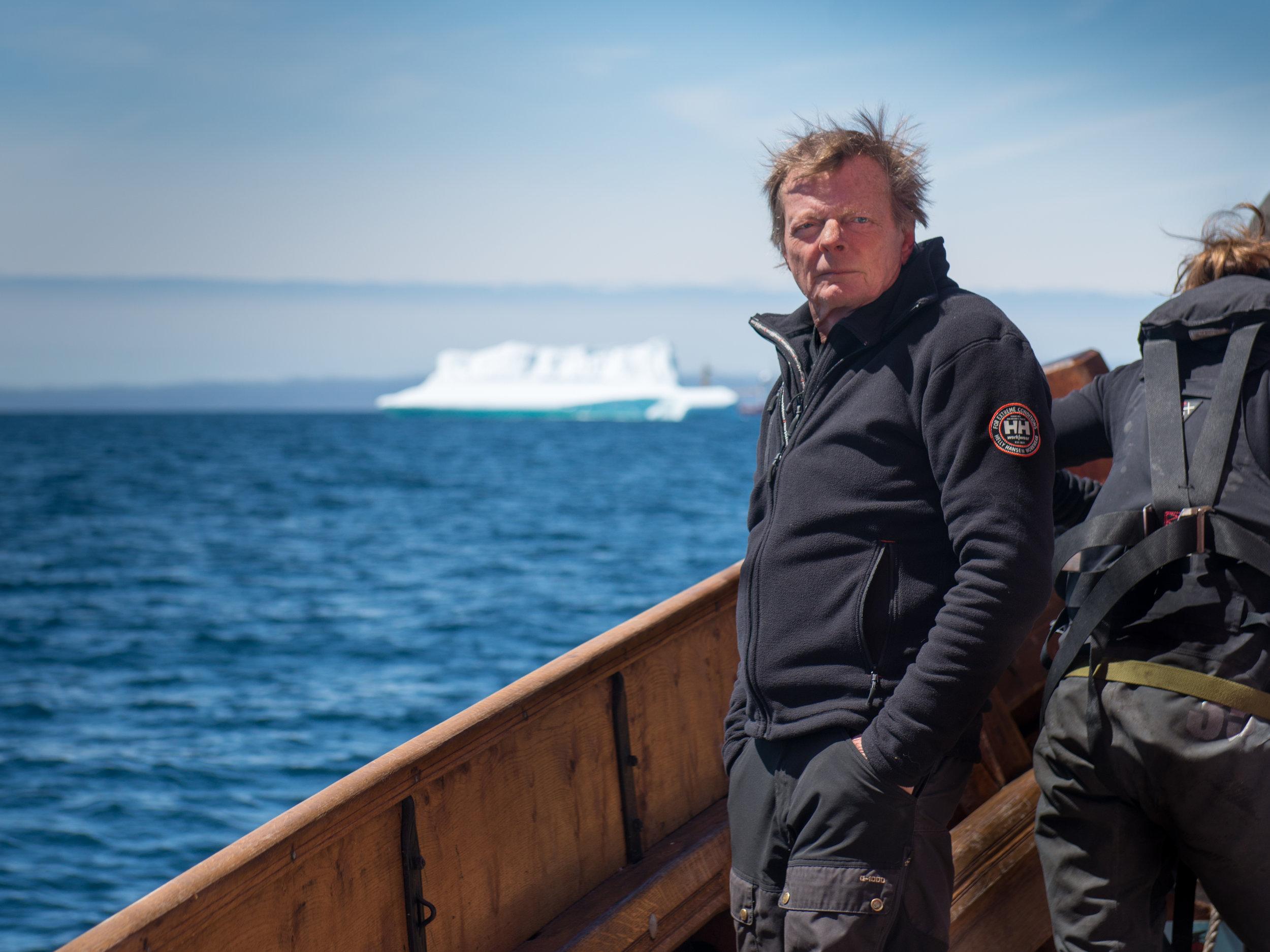 Captain Björn Ahlander, Sweden
