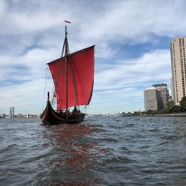NYC - here we are! #draken #vikings #vikingspirit #newyork