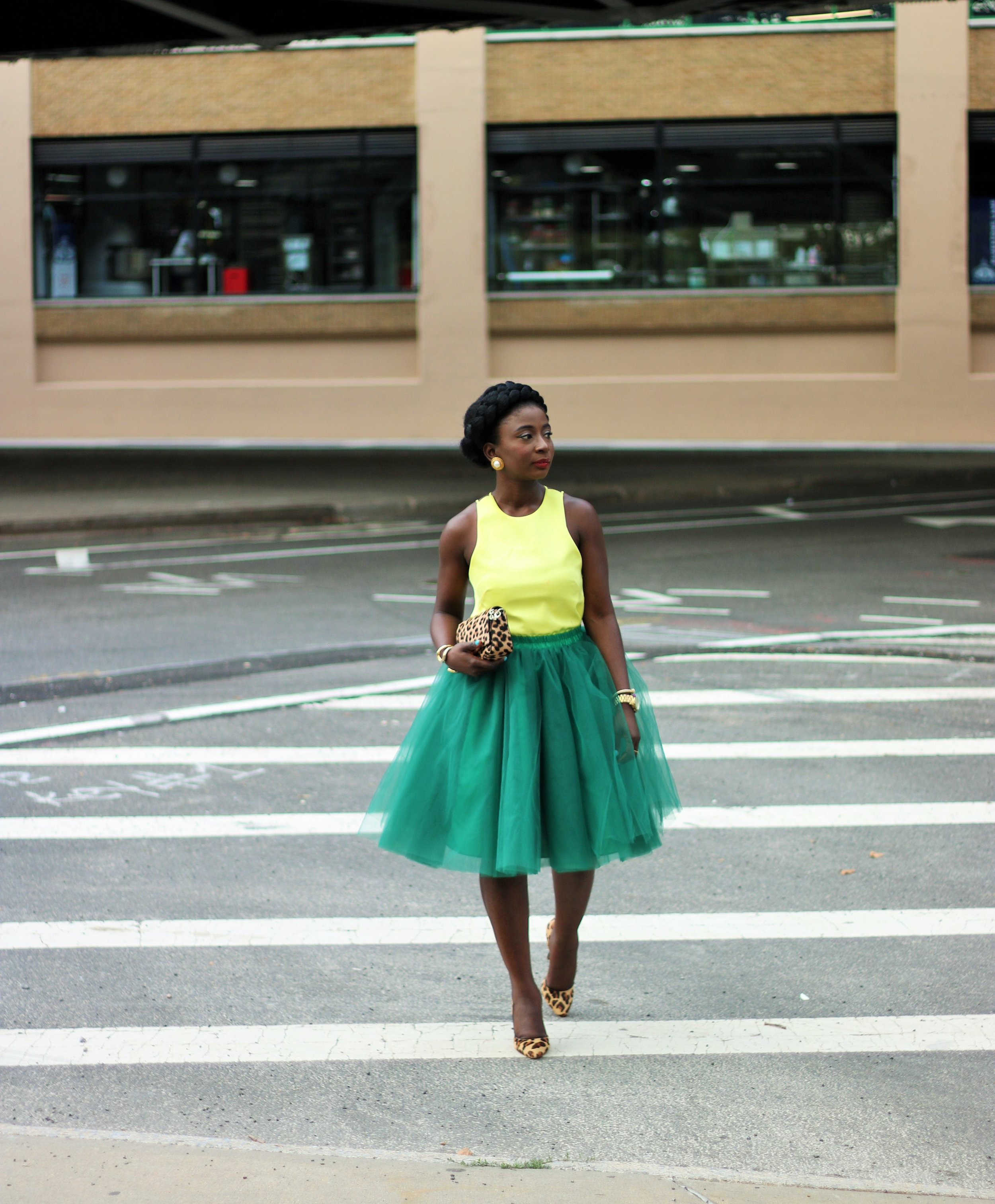 Yellow-And-Green-Outfits