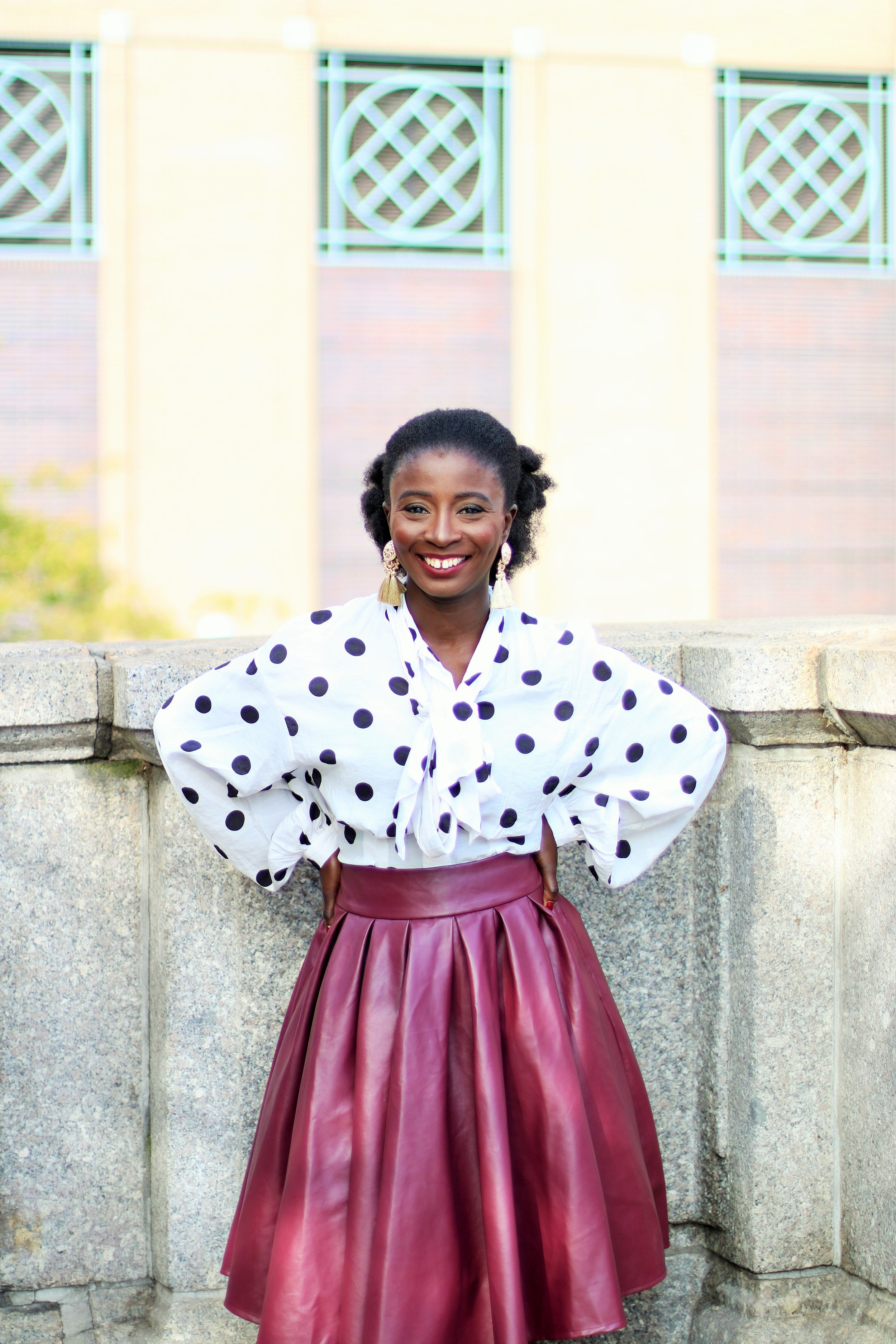 Polka-Dot-Top-Outfit-Ideas