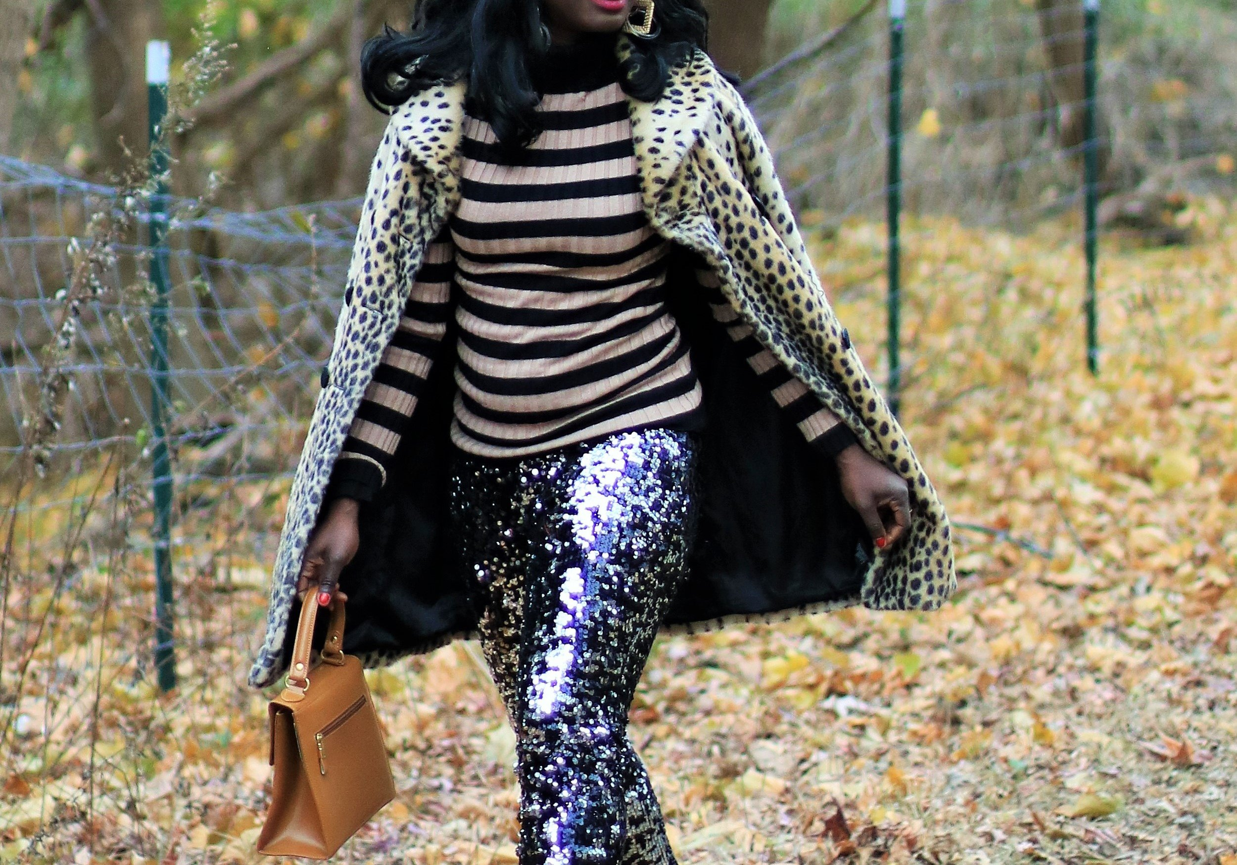 Stripes-And-Leopard-Outfit-Ideas