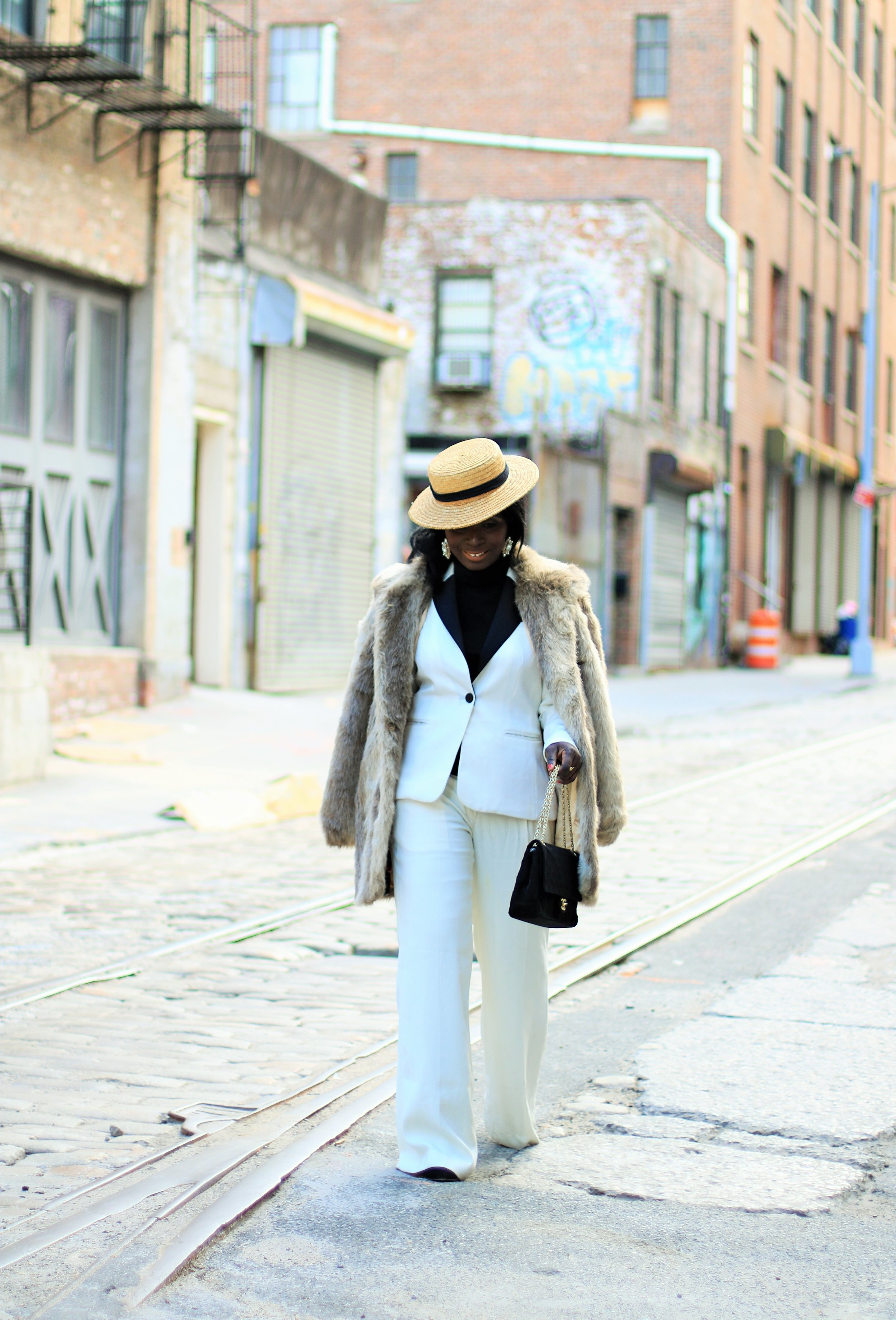 White-Pant-Suit-Outfits