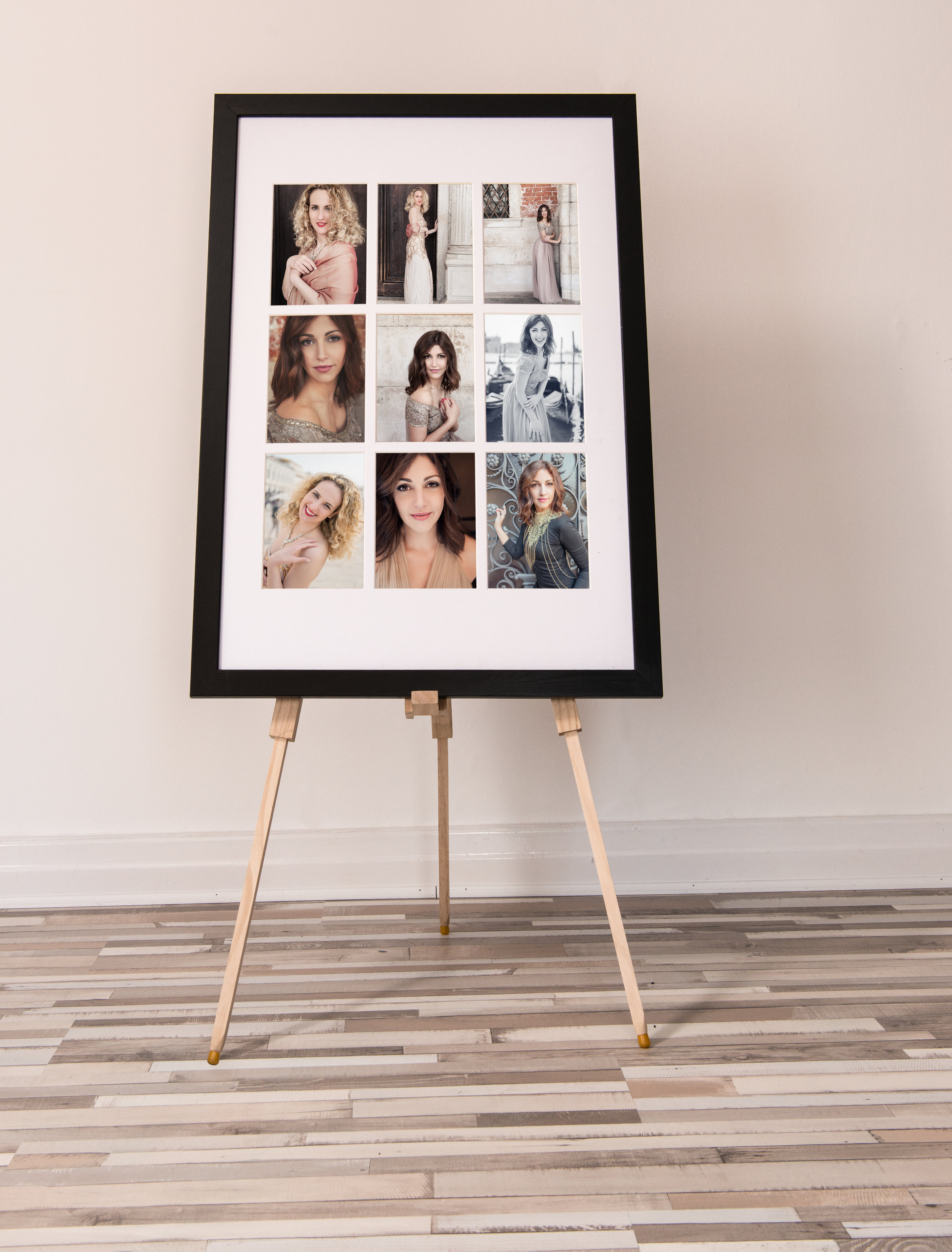 9 Up Portrait Gallery - A 9 up portrait gallery is a stunning way to display your photos. Please get in touch for more details.
