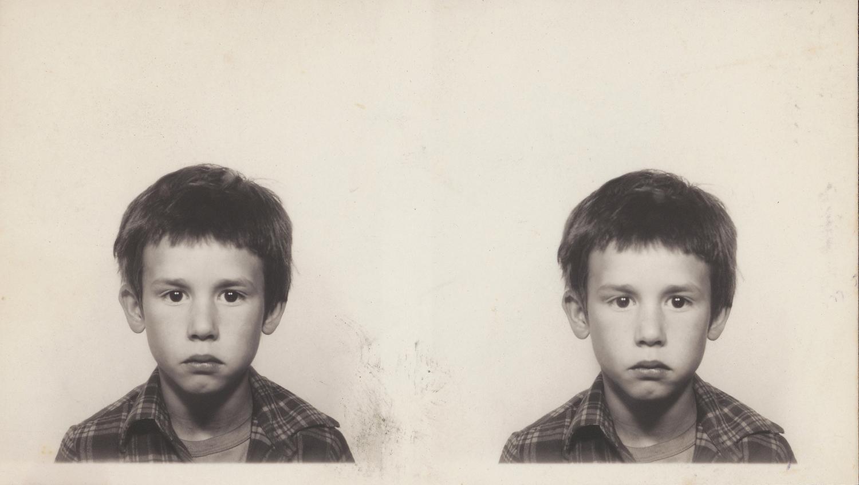 Unknown Uncle (date unknown), silver gelatin passport photograph