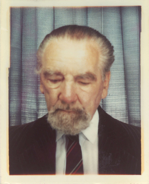 The Old Man (passport), scanned inkjet on paper