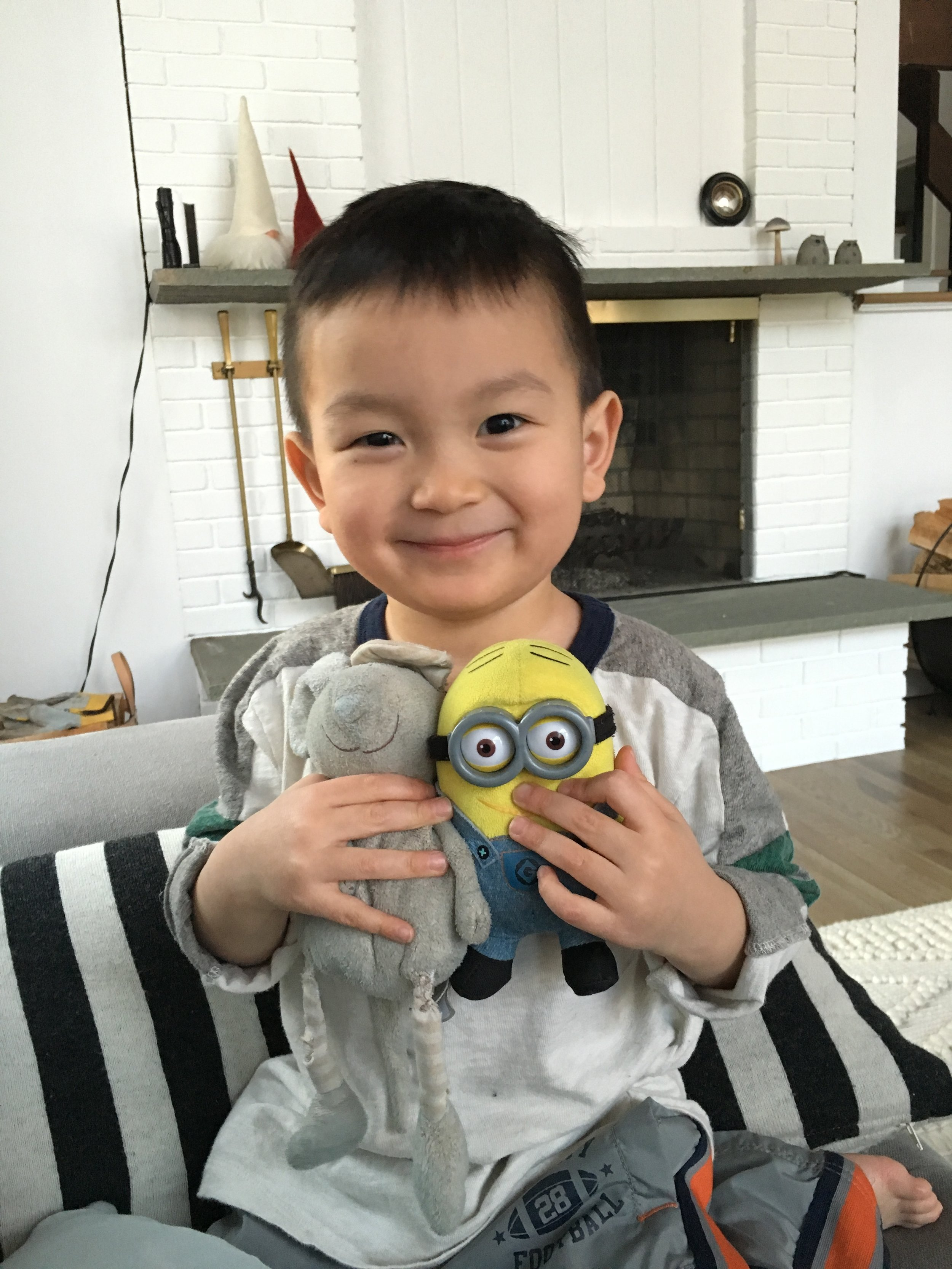 Lucas Harashima - Lucas, age 6, passed away on March 21st 2018, just 18 months after being diagnosed with DIPG, an incurable type of pediatric brain cancer. In his honor, we will work tirelessly to find a cure.