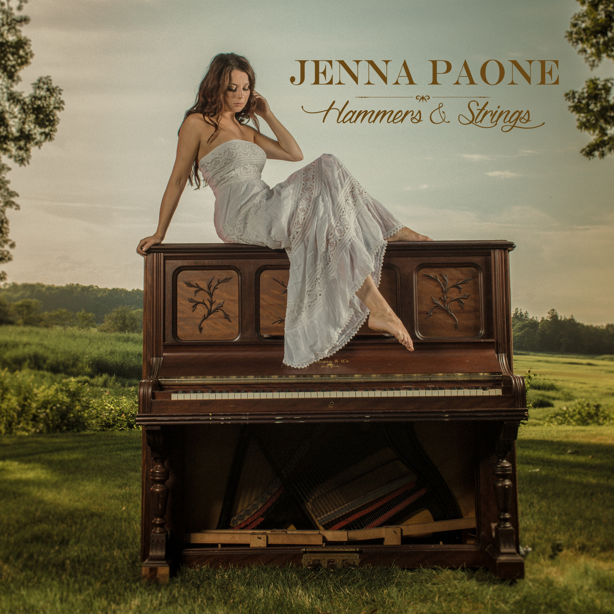 """Jenna Paone - """"Hammers & Strings""""  2014"""