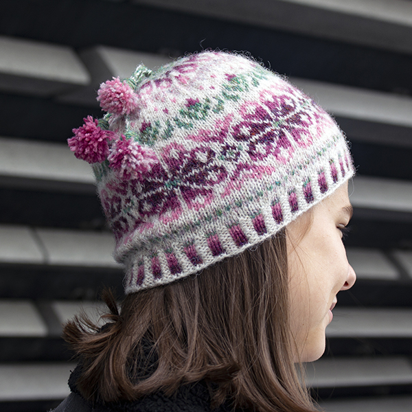 Sea Pinks Hat is here! - Visit my Ravelry store: Merrily by Design