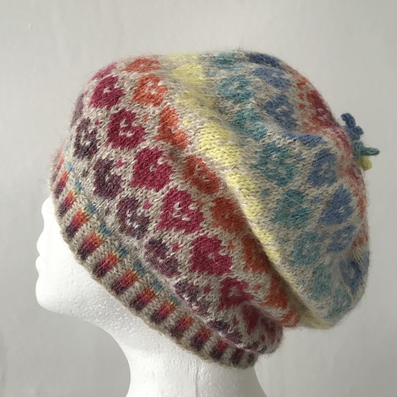 All You Need is Love Hat - Visit my Ravelry store: Merrily by Design