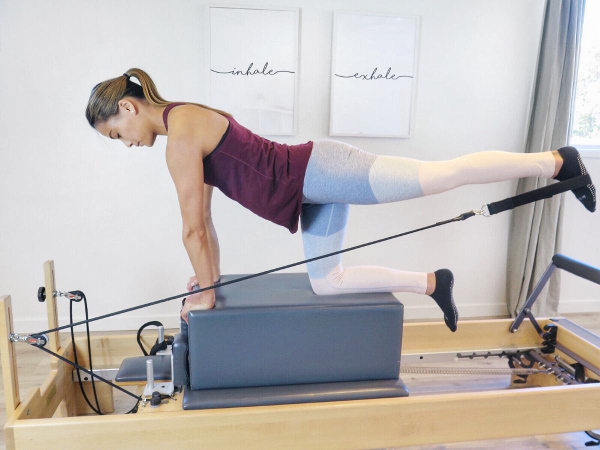 Wearing: Outdoor Voices  7/8 Spring Legging  -- Fitness Studio:  MNTSTUDIO