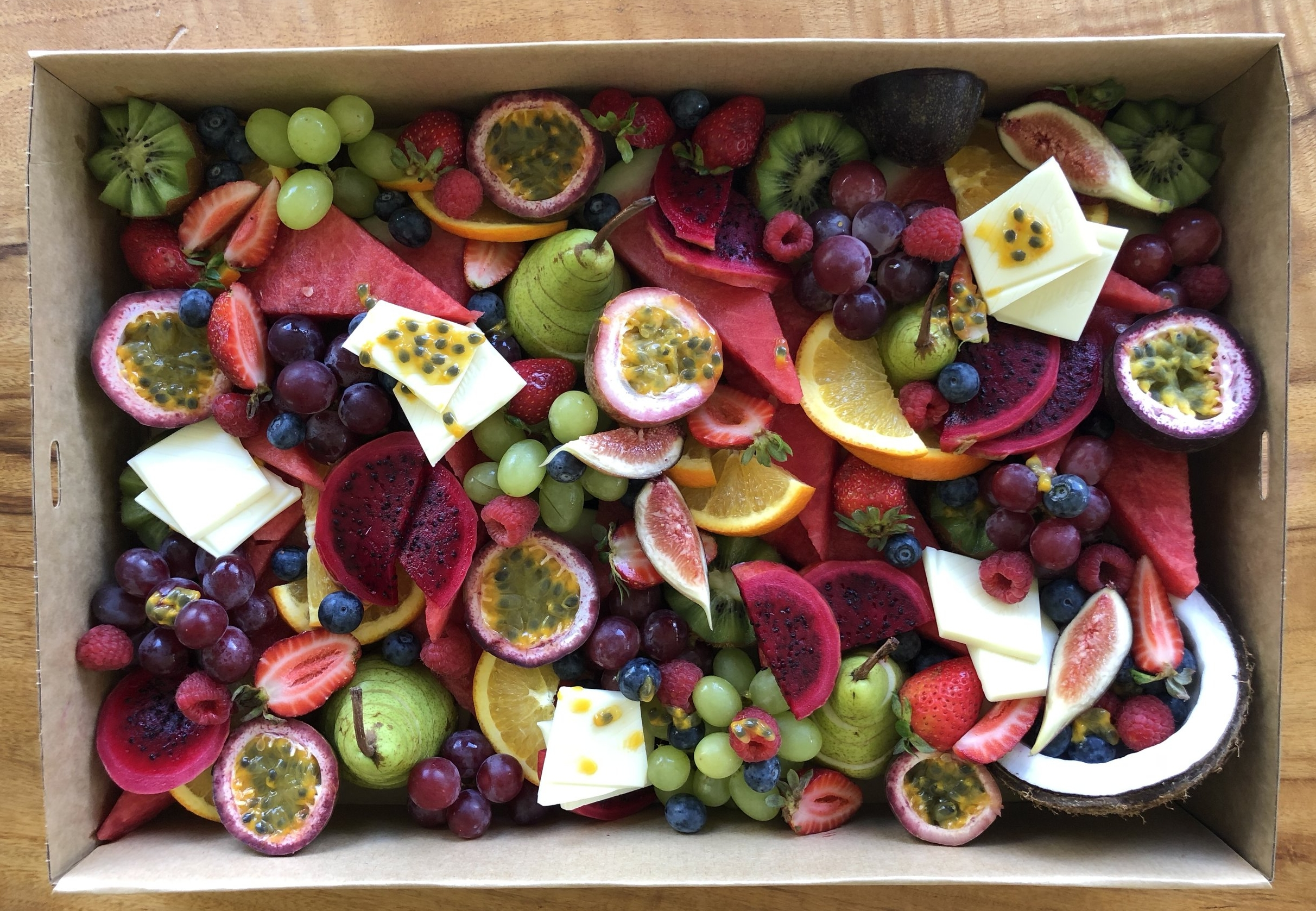 LARGE FRUIT BOX$90.00 - for up to 8 people