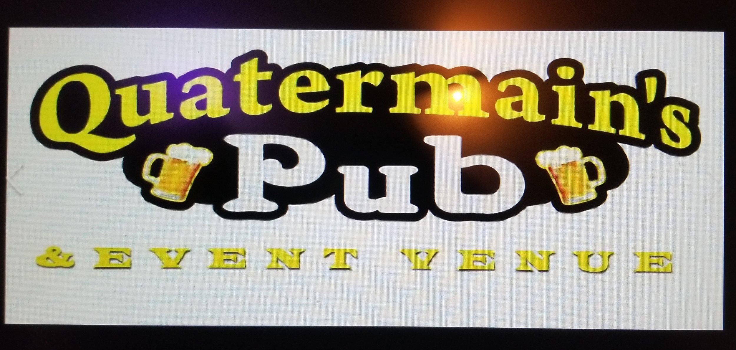 Quartermain's Pub - 10pm-2am