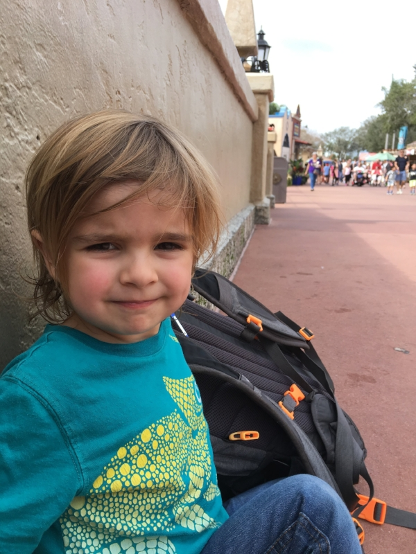 Our WDW Day Bag - What We Packed