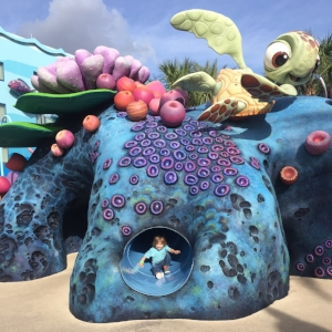 The Righteous Reef playground was a huge success at the Art of Animation.