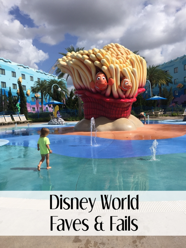 Disney World Faves and Fails