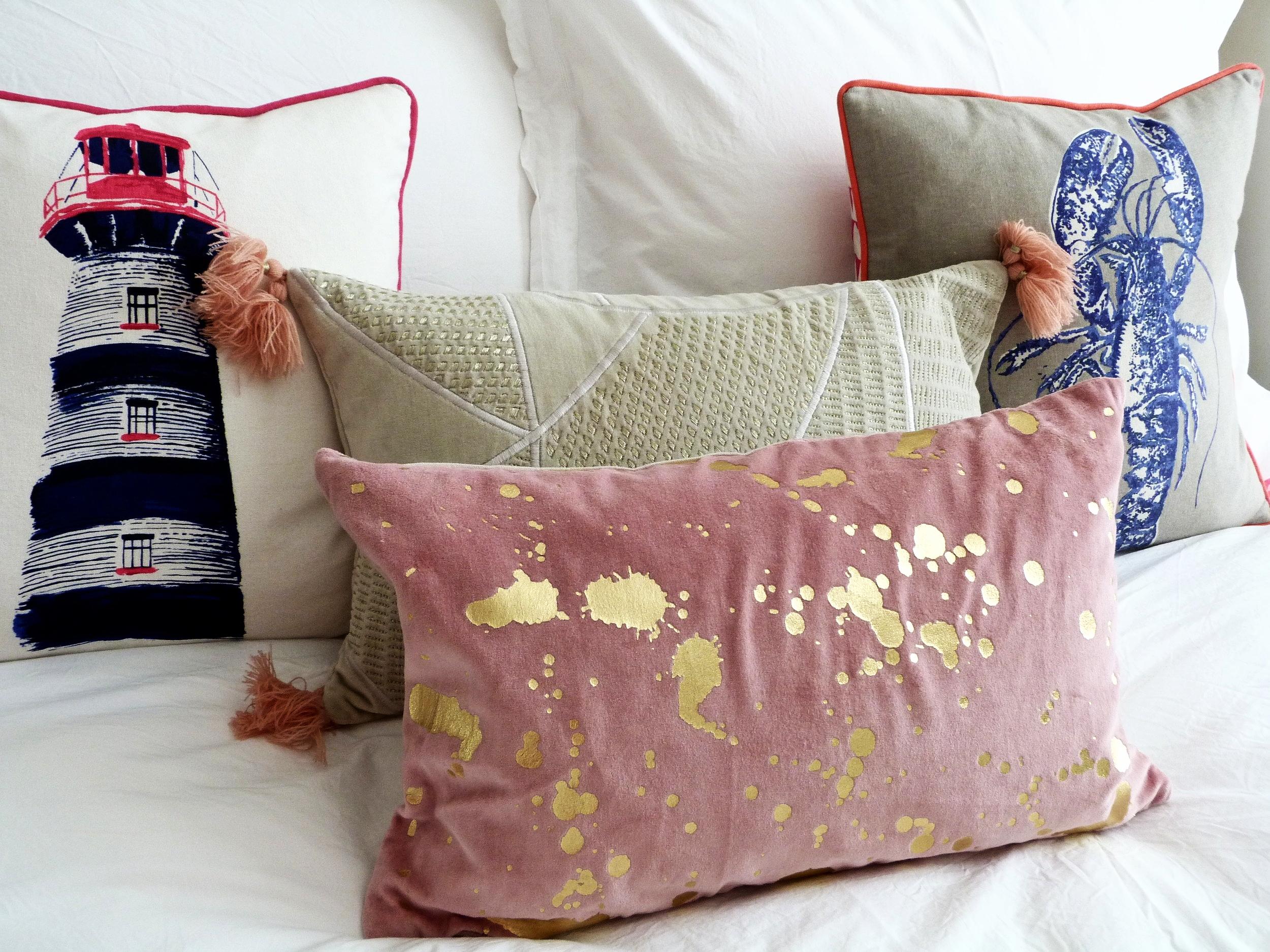 Oliver Bonas & Joules Cushions