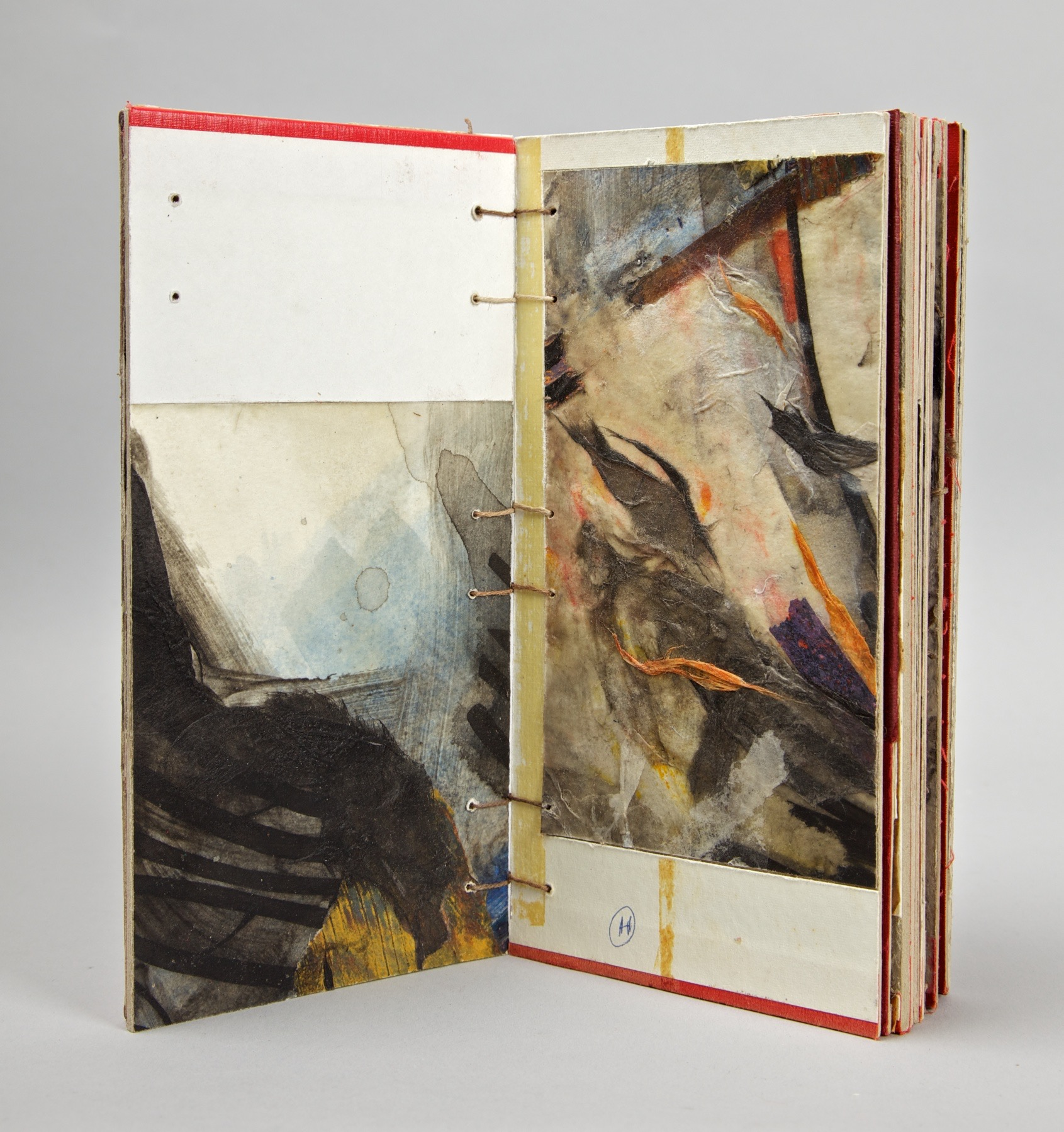 Coptic-bound cover book