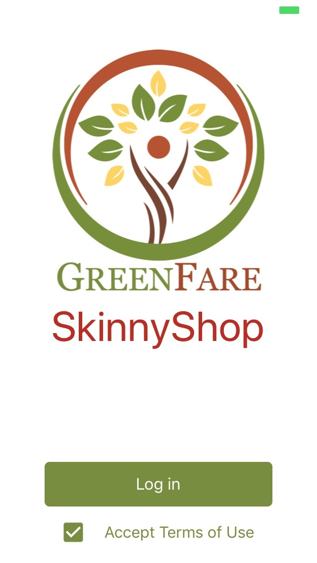 GreenFare SkinnyShop - A mobile application available for iOS and Android platforms. You currently must be a GreenFare client in order to use the app.