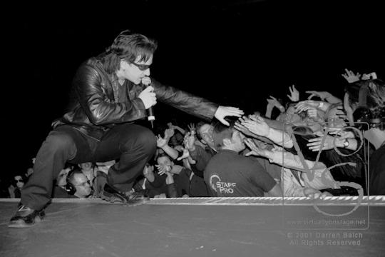 Bono - U2, 2001