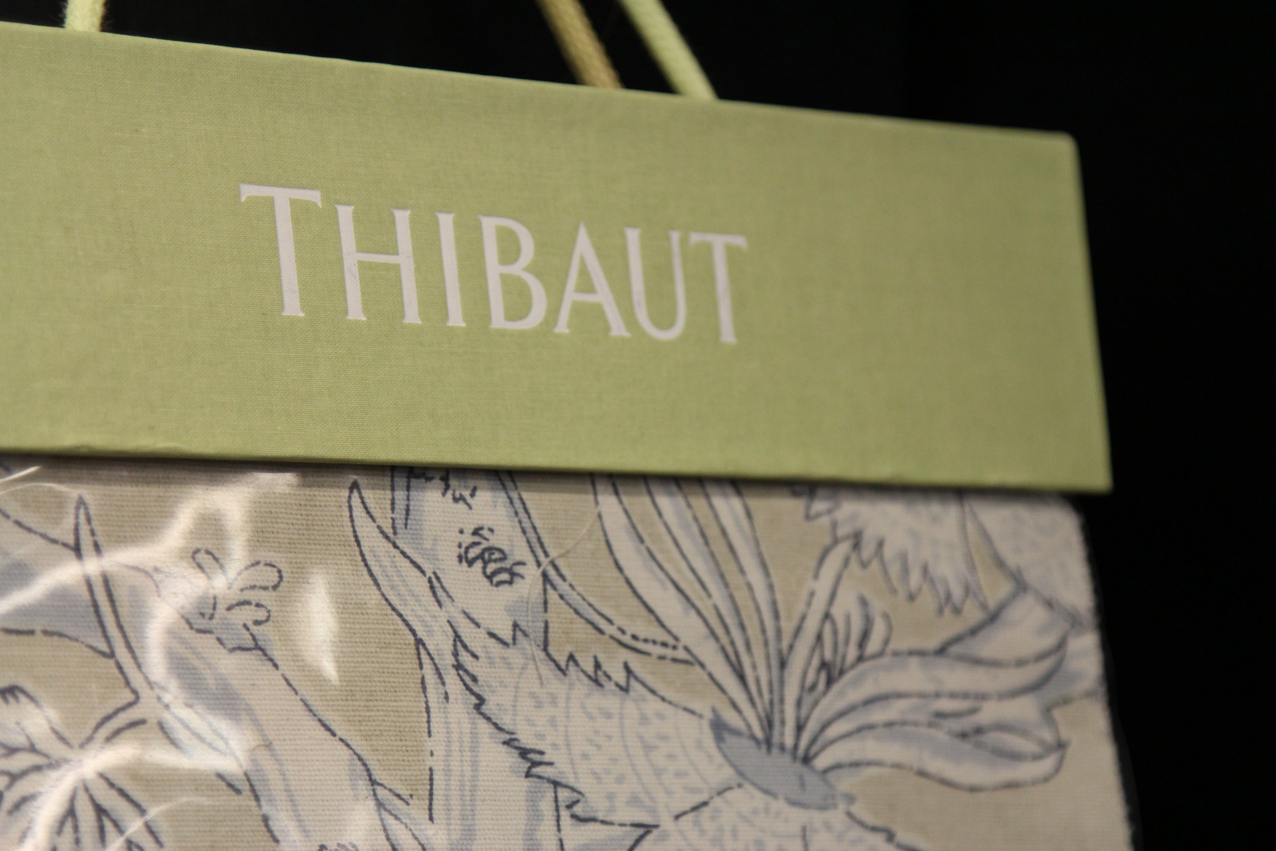 Thibaut Wallpaper and Fabrics  Thibaut is the nation's oldest operating designer wallpaper firm. Over the years, the company has broadened their offerings to include wallcoverings, print fabrics, embroideries, and woven upholstery fabrics.