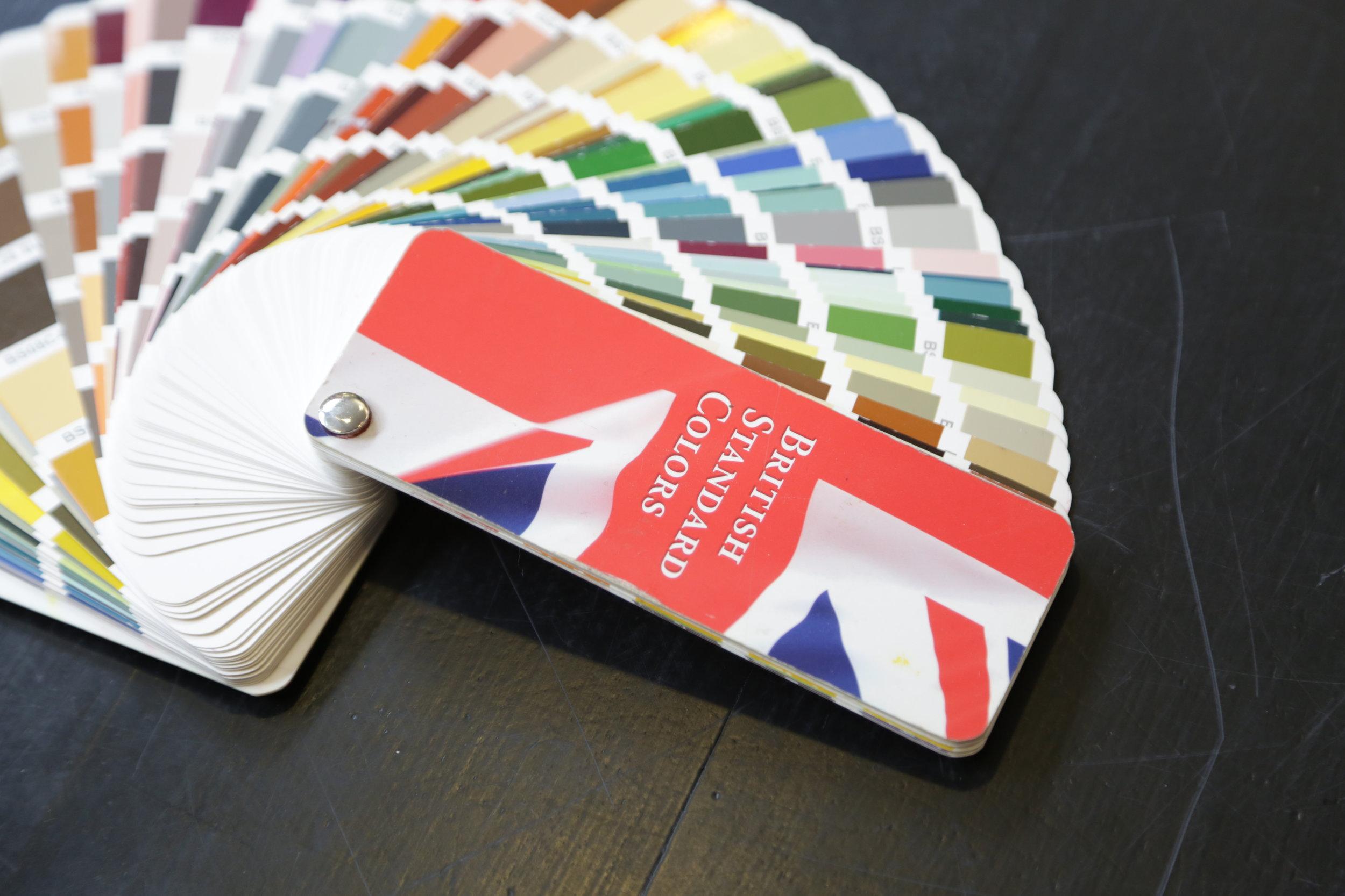 Fine paints of europe fan deck