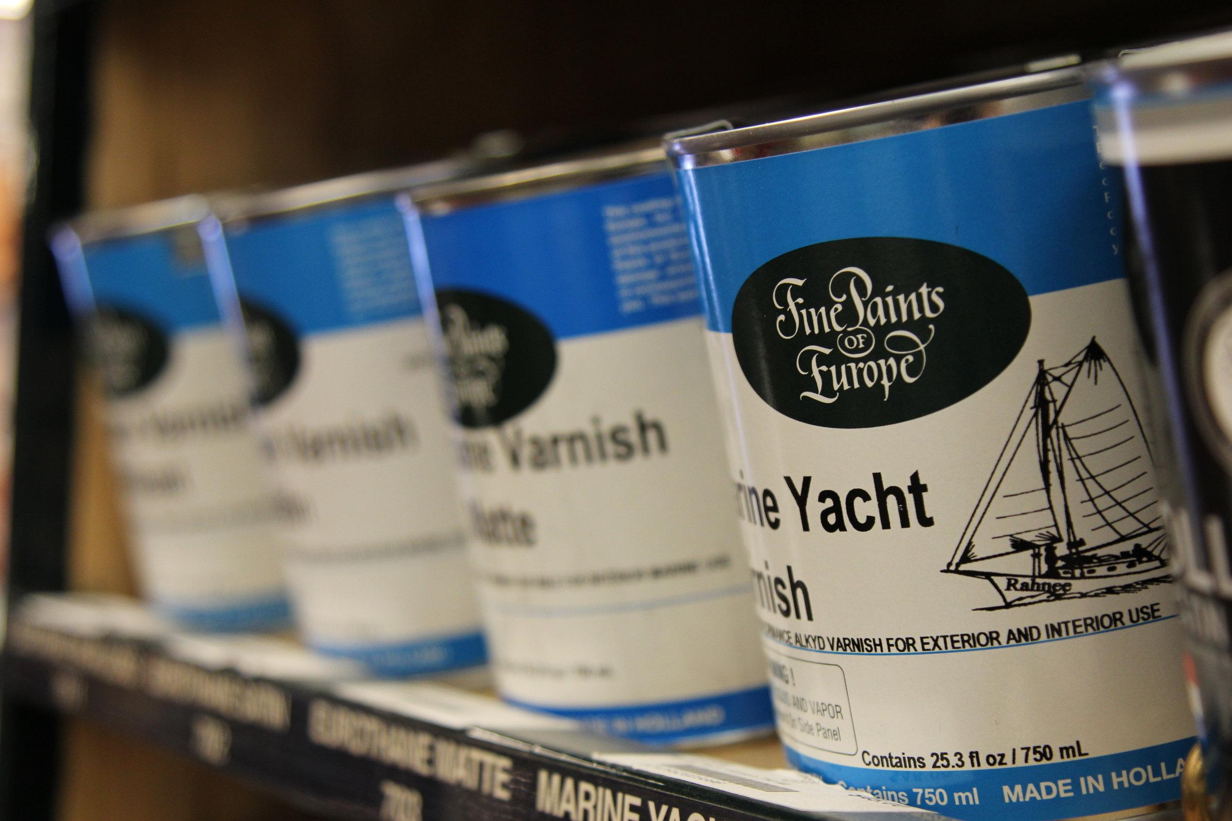 fine paints of europe marine yacht varnish