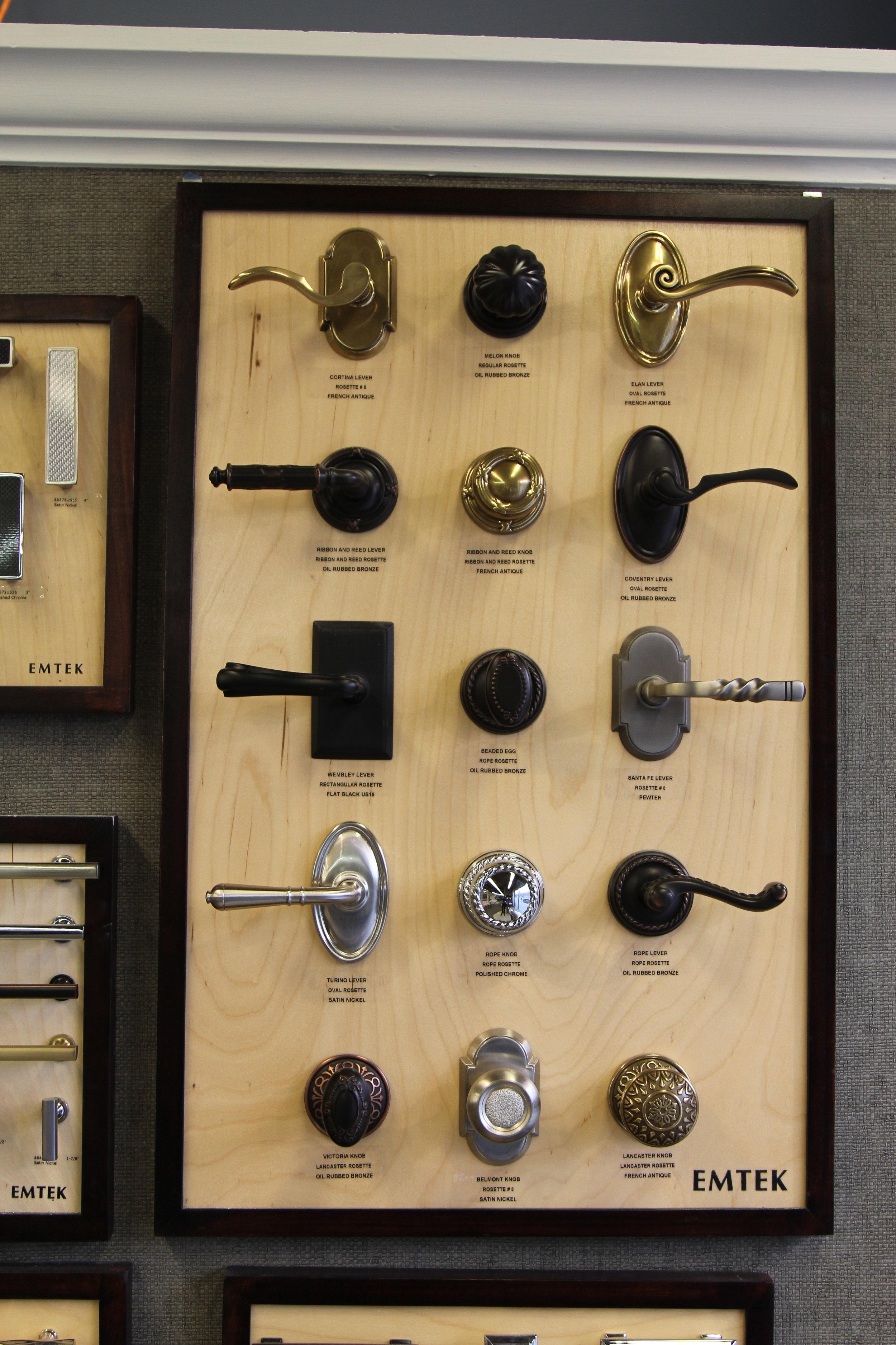 emtek lever collection
