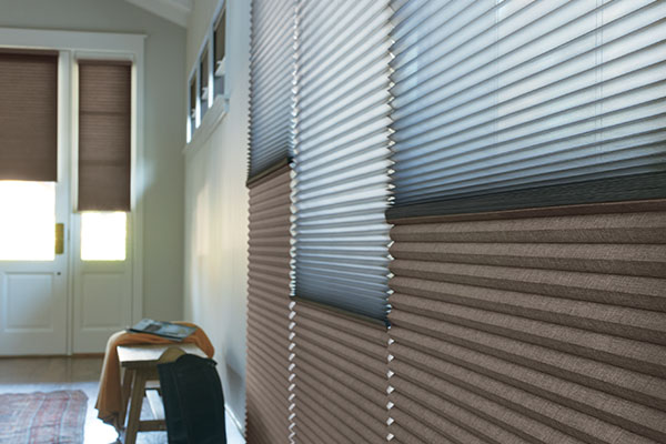 Light Control - Hunter Douglas window treatments can be designed in a range of opacities from sheer to room darkening to opaque. You can choose to illuminate your home or to achieve ultimate darkness.