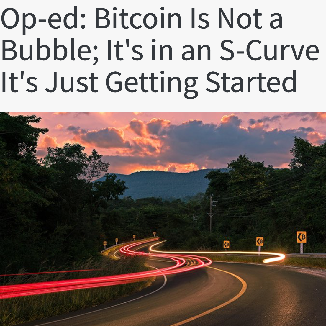 Bubble or S curve?