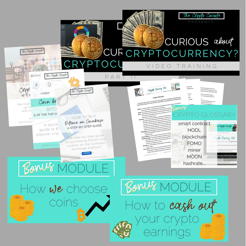 Plus, you've got Bonuses! - Want to go beyond the basics? You'll get 3 bonus tutorials with printable notes, a downloadable cheatsheet, and we spill our secrets by giving you our personal checklist for how we choose winning coins. You're welcome!PLUS, Access a members only resources page linking all of the platforms and resources from each video training in case you want to dig deeper.