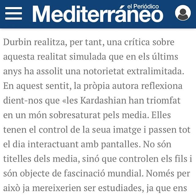 An interview with me and @martinez_tive about Kim's Fairytale Wedding in Mediterraneo in Spain!  http://www.elperiodicomediterraneo.com/noticias/cuadernos/editorial-amb-intencio-trans-literaria_1129764.html