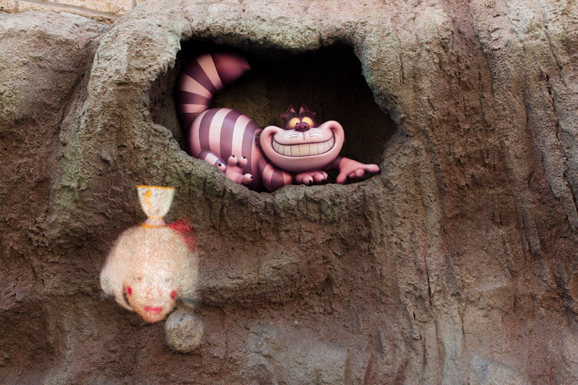 Mad Tea Party , Alice in Wonderland, Fantasyland