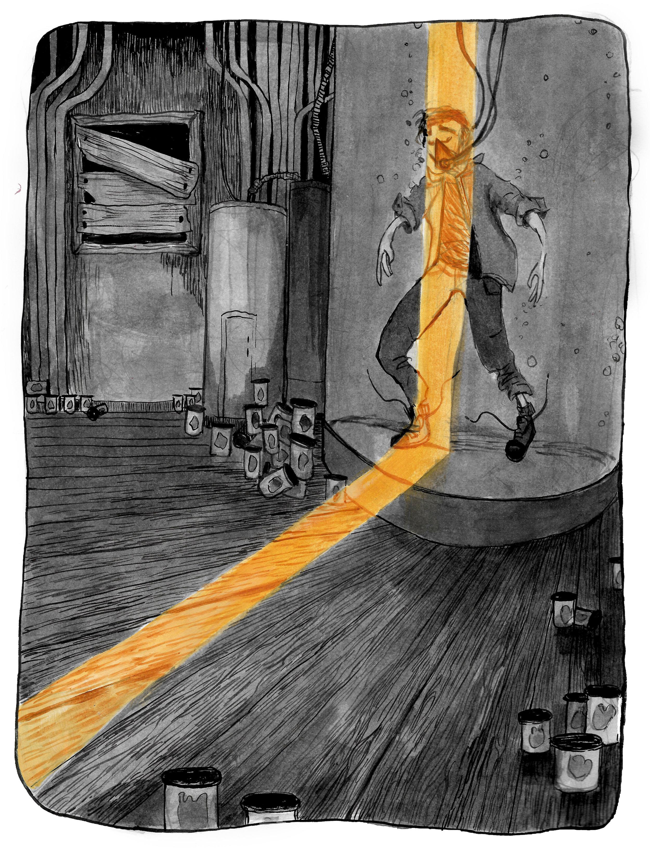 The Heart in the Jar: Web Comic by Kerilynn Wilson